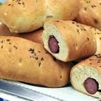 Sváteční chlebové večky s klobásou
