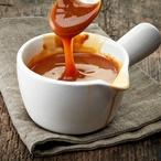 Levandulová karamelová omáčka
