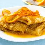 Mandarinkové crêpes Suzette