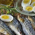 Pikantní makrely na roštu