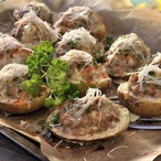 Plněné brambory s mletým masem