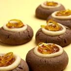Čokoládové bochánky s mátou