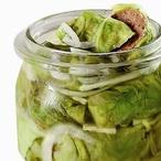 Nakládané maso v zelných listech