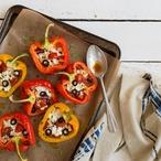 Letní plněné papriky