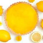 Francouzský citronový koláč