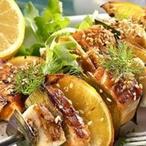 Rybí špíz s pórkem a citronem