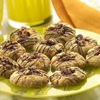 Koláčky s ovesnými vločkami a ořechy