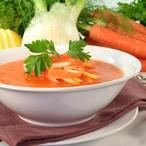 Polévka mrkvová s fenyklem