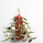 Barevný vánoční salát