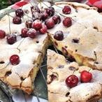 Rychlý koláč s višněmi