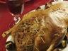 Pečená kachna s kaštanovou nádivkou