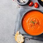 Polévka z rajčat