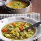 Zeleninová polévka skaprem