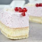 Torta paradiso con mascarpone - Piškotový moučník plněný mascarpone
