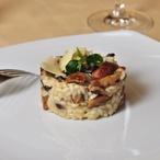 Italské houbové risotto s petrželí