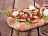 Bageta s houbami