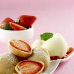 Smažené jahody v těstíčku