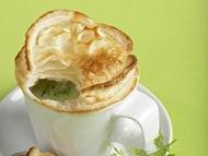Pečená brokolicová polévka