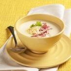 Bramborovo-sýrová polévka se šunkou