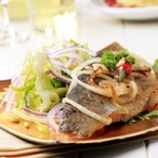 Rožněná ryba s bylinkami podle Dity Von Teese