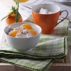 Ovesné vločky s jogurtem a mandarinkami