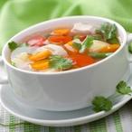 Jarní zeleninová polévka 1
