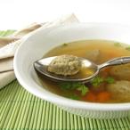 Polévka z drobů s játrovými knedlíčky