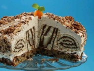 Roládový dort s nugátem