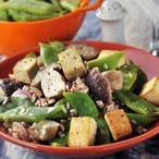 Barevná rýže se zeleninou a tofu