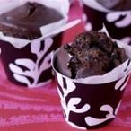 Čokoládové muffiny s ostružinami