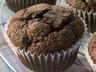 Fairtradové čokoládové muffiny s kokosem a banánem