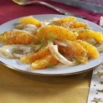 Pomerančový salát s fenyklem