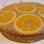 Obrácený pomerančový koláč