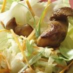 Ledový salát s hříbky