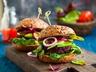 Hamburgerové housky s červenou řepou