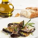Lilek v olivovém oleji a bylinkách