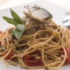 Špagety s makrelou