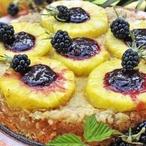 Jablkový nákyp s ananasem