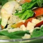 Bio recept na špenátový salát