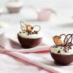 Miska z čokolády