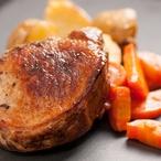 Vepřové plátky s mrkvovým pyré