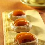 Listové meruňkové koláčky