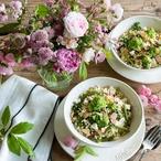 Bulgur se zeleninou a mandlemi