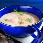 Skandinávská krémová polévka