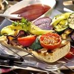 Grilovaná zelenina s petrželkovou marinádou