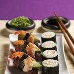 Čokoládové sushi s krevetkami
