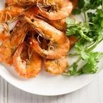 Silvestrovské česnekové krevety