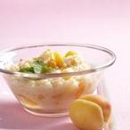 Rýžová kaše s meruňkami
