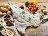 Grilovaná treska s rajčatovou omáčkou a olivami