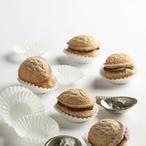 Plněné ořechy s chalvou
